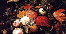 Still life - Dutch and other Painters / Still life paintings of flowers, fruit etc. by famous Dutch and other painters