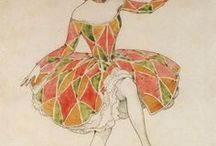 Circus/Theatre - A world of Fantasy and Performing Arts / About Circus and Theatre, Paintings and vintage posters.