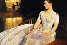 John Singer Sargent / American Impressionist Artist. He uses lots of splashes of light to bring painting to life