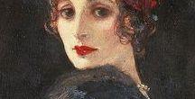 Sir John Lavery / Impressionist Art by Irish Painter.
