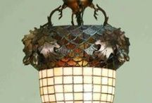 Art Nouveau - Lamps / Jugendstil