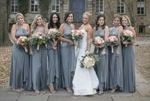 IDEA FOR GREY WEDDING / Inspiration Color Mood Board for Weddings with the Grey color theme. A lovely collection for brides, bridesmaids, decor, event, wedding accessories.