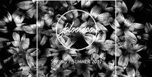 Jbloomco SS17 Lookbook / Jbloomco printed silk scarves - SS17 Collection Lookbook