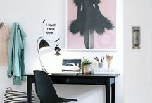 office space / inspiration for creatives and their workspaces   interior design, office, desks, small spaces