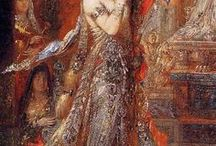 GUSTAVE MOREAU - French Symbolist paiter / 18th  Century  French Symbolist painter