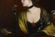 SIR OSWALD BIRLEY - British portrait painter