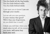 MASTERS OF WAR - Lyrics by Bob Dylan and others describe the world as it actually is / Lyrics about Politicians making decisions and  sending people to war in a war that did involve them.  However ex Vietnam ex Veterans did their duty and must be respected. However this was not case.Political statements in song, pointing out the obvious. Bob Dylan probably the greatest poet ever. It was the thinking generation of the 60s who were the greatest thinkers.