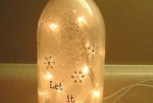Bottle Creations / Bottle and jar creations and DIY projects and tips. / by Susan Jones