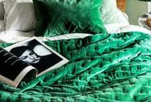 GREEN / Emerald, mint, chartreuse … green is the colour of life