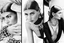 GIOVANNA BATTAGLIA / I just love her style! The former model is editor of L'Uomo Vogue, a freelance stylist and contributing editor at W magazine. A risk taker and revolutionary style icon, she is a fashion force to be reckoned with!