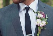 The Dapper Groom / I know it's usually all about The Bride and the dress, but men have some fun new options these days. Get creative! Whether it's ideas for a tux, a suit, or the Groom's Cake - this board is all about ideas for The Groom.