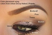 Make-up Artistry / I always feel instantly better when I put on a bit of make-up. It's an instant pick me up for me. I've collected some of my favorite make-up looks...for your Wedding day & beyond.