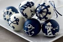 Nautical Wedding Style / Living on Long Island, beach-style is always welcomed & appreciated. A nautical wedding can be relaxed and casual, chic and elegant - or somewhere in between.