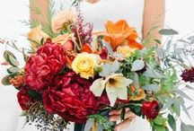 Beautiful Bouquets / Beautiful flowers enhance any wedding. Here are some wedding bouquet trends, ideas, and inspiration.