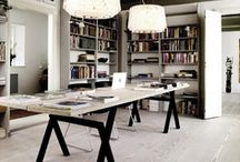 WORK SPACES & STUDIOS / Home offices, studio spaces or the work place …