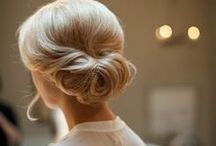 Bridal Hair / Whether you go for a structured updo, or a long, romantic look, choosing a wedding hairstyle can be tough. Here are some great ideas - from classic to cutting edge.