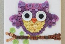 Craft projects- buttons