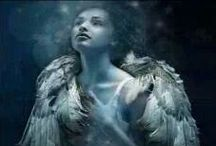 ANGELS / When angels visit us we do not hear the rustle of wings, nor feel the feathery touch of the breast of a dove; but we know their presence by the love they create in our hearts.
