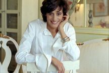 INES DE LA FRESSANGE / The model, author, fashion designer, is the epitome of French chic style. She was named on the International Best Dressed List Hall of Fame in 1998. She also owns a store  Ines de la Fressange Paris, 24 rue de Grenelle, Paris; inesdelafressange.fr Born 1957