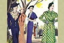 Kvinnomode från olika tidsåldrar m.m.......