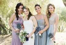 Blushing Bridesmaids / Your Bridesmaids...they are your best friends, sisters, and your support system when planning your wedding & on the big day.