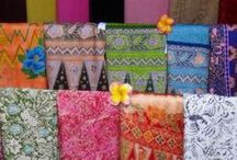 INDONESIAN TRADITIONAL FABRIC / Craft / by Mira ES