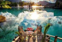 Travel✈️⚓️ / Tahiti, Hawaii, Bali