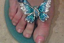 Flip Flops.... / by 🌹💙Midnight Blue💙🌹