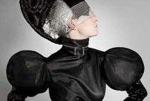 A different ART / Futuristic, Avant Garde, Architectural Fashion