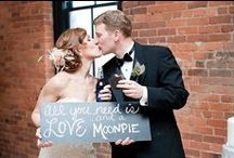 Over the Moon Weddings / MoonPie loves being part of weddings and bridal showers!