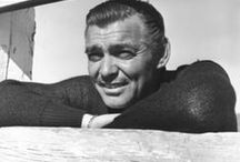 """Clark Gable / """"The King of Hollywood"""" / by Ralph Hoffman"""