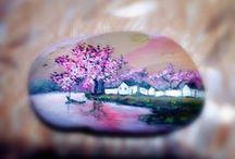 malovane kamene