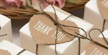 Gastgeschenke Hochzeit - weeding guests gifts / Ideen für selbst gemachte Gastgeschenke auf einer Hochzeit - ideas for homemade wedding guests gifts
