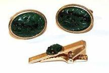 Gold Cufflinks / Find all our #GoldCufflinks at: http://www.mensaccessoriesshop.com/buy-cufflinks-tie-clips/vintage-cufflinks/category/19-gold-cufflinks