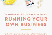Business / The perfect resource to find information on how to set up and launch a successful business and maintain it's growth along with your sanity.