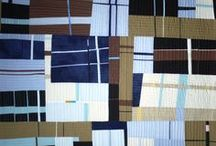 NANCY CROW / inspiration with lines and strips