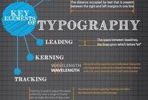 Infographics / infographics dealing with design, branding, social media, marketing.