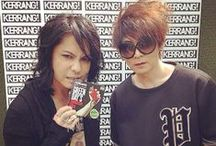 "Kerrang! Awards 2014 / [June 12] VAMPS ""Kerrang! Awards 2014"" in London."