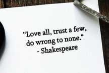 William Shakespeare / Sonnets/Quotes/Plays/Films