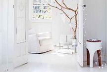 White interier