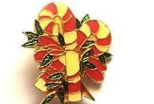 Christmas Fashion Lapel Pins / Check out #MensAccessoriesShop's #Christmas #Fashion Lapel Pins for Men