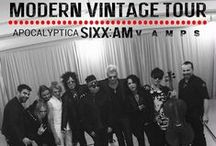 MODERN VINTAGE TOUR 2015 w/ VAMPS / SIXX:A.M. - The Modern Vintage Tour *VAMPS Support Performance