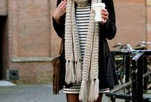 Autumn Style / Warm fall tones, comfy sweaters, trendy scarves etc.
