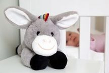 DEX, LIZ & DON - Soft Toy Comforters / A soft toy comforter, that calms & soothes your newborn baby by mimicking a mum's heartbeat.