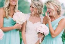 TURQUOISE / AQUA wedding ideas / Aquamarine or turquoise wedding ideas and inspiration