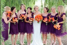 PURPLE and ORANGE wedding ideas / Purple and orange wedding colour scheme inspiration and ideas // Sanshine Photography - Unique Portrait and Wedding Photography in London and Hertfordshire // www.sanshinephotography.com