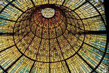 Vidrieras art nouveau y otros estilos