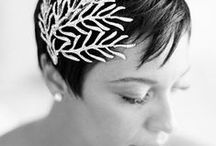 SHORT WEDDING HAIR / Ideas for short wedding hairstyles | Sanshine Photography - Luxury Fine Art Wedding Photographer London, Hertfordshire & Destination | www.sanshinephotography.com