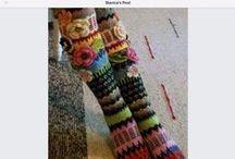 knit, crochet, weaving