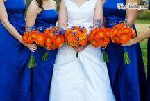 ORANGE AND BLUE wedding  / Blue and orange wedding colour theme ideas and inspiration // Sanshine Photography - Unique Portrait and Wedding Photography in London and Hertfordshire // www.sanshinephotography.com